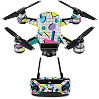 Skin for DJI Spark Mini Drone Combo - Awesome 80s| MightySkins Protective, Durable, and Unique Vinyl Decal wrap cover | Easy To Apply, Remove, and Change Styles | Made in the USA