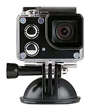 ISAW® EDGE 4K Ultra HD / 1080P HD Action Camera with LCD View-finder  built-in Wi-Fi + Free ISAW Viewer II App