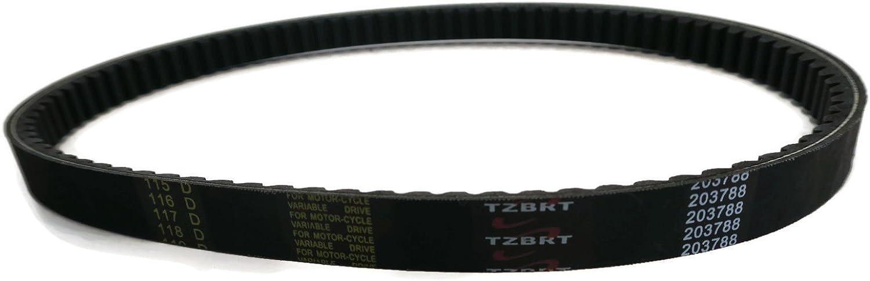 Details about  /2PCS Go Kart Torque Converter Belt For Comet 203788 40//44 Series TAV2 Brister