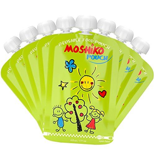Reusable Food Pouch Moshiko Refillable