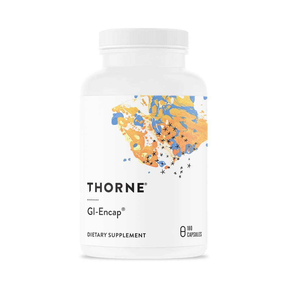 Thorne Research - GI-Encap - Botanical Supplement for GI Tract Support - 180 Capsules by Thorne Research