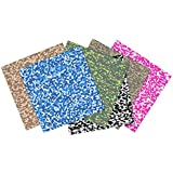 Craftopia Premium Assorted Camouflage Self Adhesive Vinyl Sheets