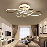 LED Ceiling Light 60W Ceiling Lamp Dimmable Remote