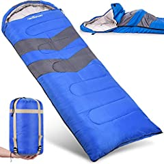 Are you looking for a high-quality sleeping bag which offers you comfortable sleep even during extreme weather conditions?Do you find it extremely difficult to get a sleeping bag which has a fine balance between its weight, comfort, weather r...