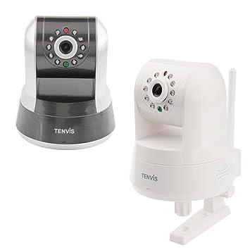 TENVIS Iprobot3 H.264 1/4 CMOS Wireless Indoor Control PTZ IP Network Camera