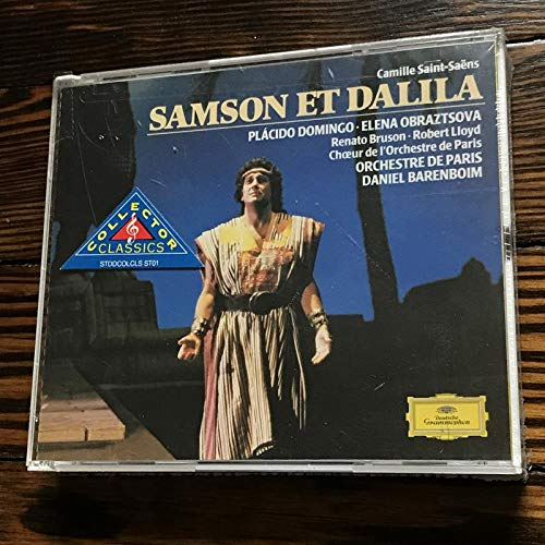 (Saint-Saëns - Samson et Dalila / Domingo · Obraztsova · Bruson · Lloyd · Orchestre de Paris · Barenboim)