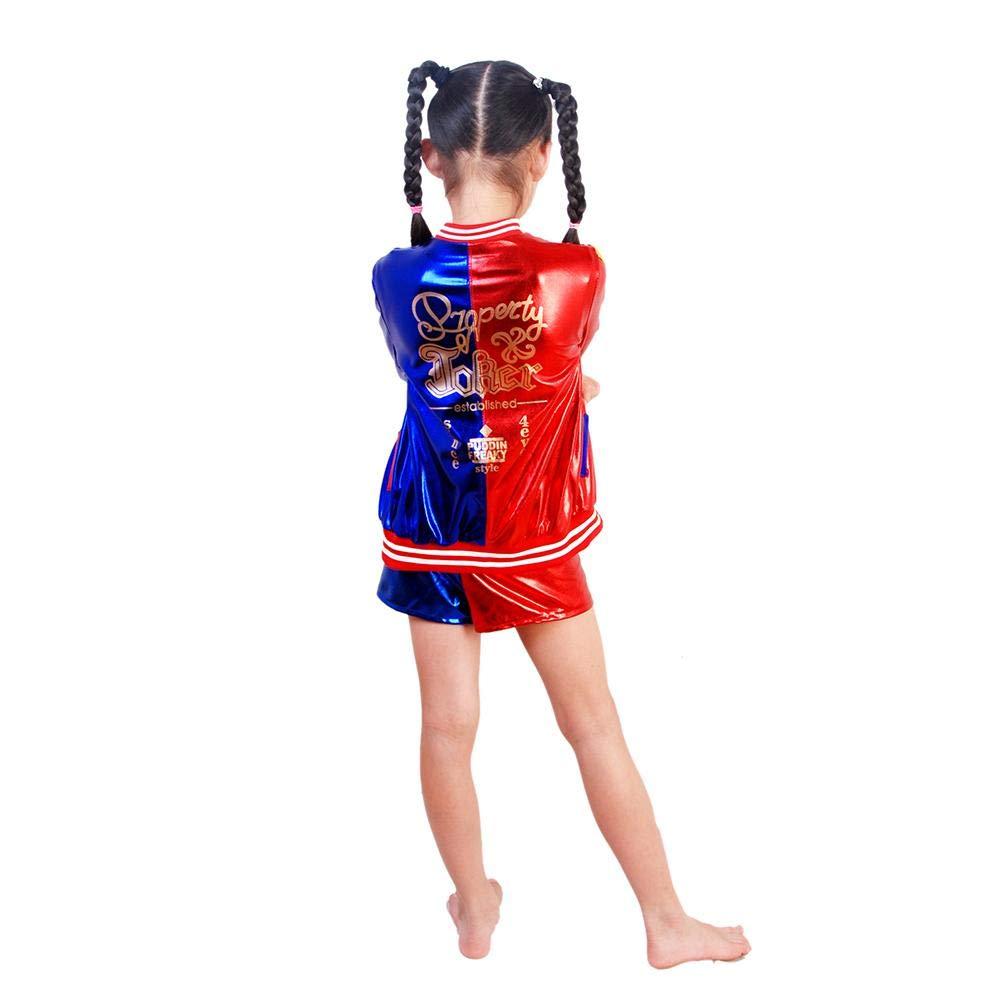 ckground Disfraz Infantil de superhéroe DC para niña, Suicida ...