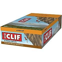 CLIF BAR - Energy Bar - Apricot - (2.4 Ounce Protein Bar, 12 Count)