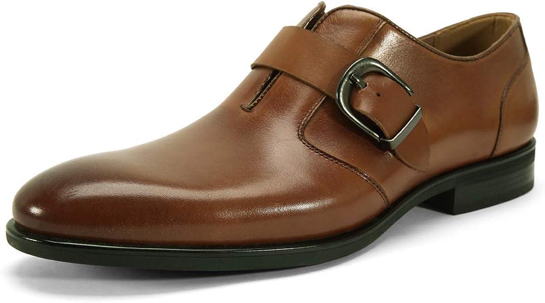 Monk Strap Slip-on Dress Shoes