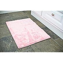 20x32 Pink bath room floor mat