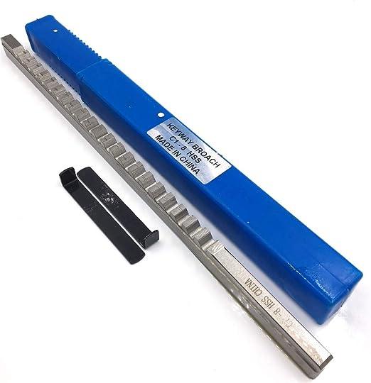 5mm B1 Type Push Type Keyway Broaches HSS Keyway Tools for CNC Machine Tool