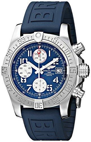 Breitling de hombre bta1338111-c870blpd3 bmmoa10098 reloj de acero inoxidable con banda de goma azul por Breitling: Amazon.es: Relojes