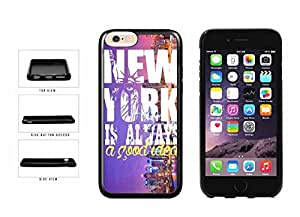 New York Is Always A Good Idea TPU RUBBER Phone Case Back Cover Apple iphone 5cInches)