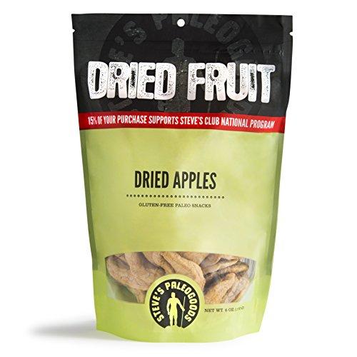 Steve's PaleoGoods, Dried Fruit Dried Apples, 6oz - Dry Apple