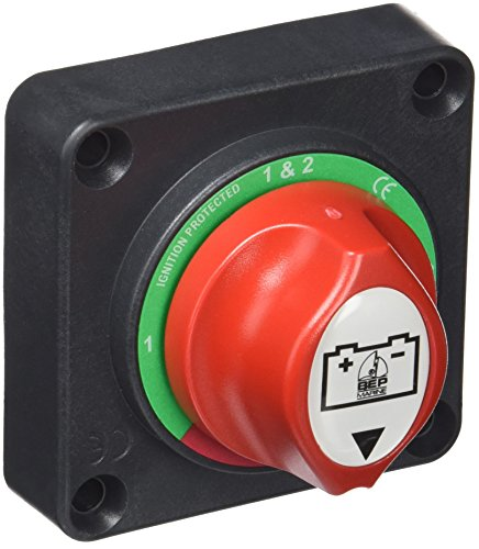 BEP 701S-PM Battery Switches - Panel Mount 1-2-Both-Off