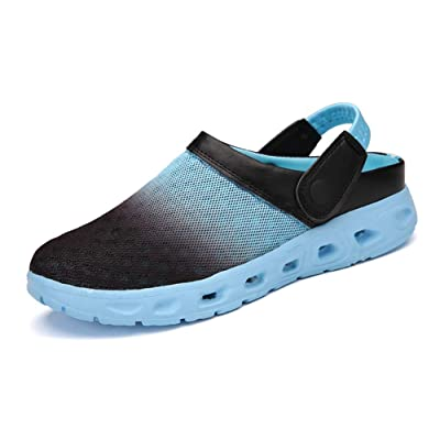 ChayChax Mens Womens Mesh Sandals Garden Clog Shoes Breathable Summer Indoor Outdoor Slippers Lightweight Walking Beach Sports Sandals   Mules & Clogs