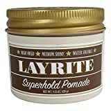 Layrite Water Soluble Pomade - Super Hold - 4.25 oz