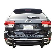 VANGUARD 2011-2015 Jeep Grand Cherokee Rear Bumper Guard Double Tubes S/S
