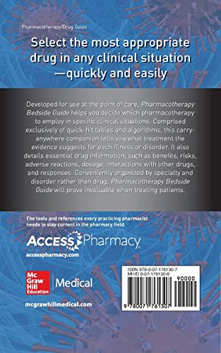 Pharmacotherapy Bedside Guide - http://medicalbooks.filipinodoctors.org