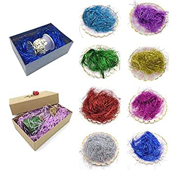 Amazon Crafts Christmas Materials Tissue Paper Shredded 10gbag