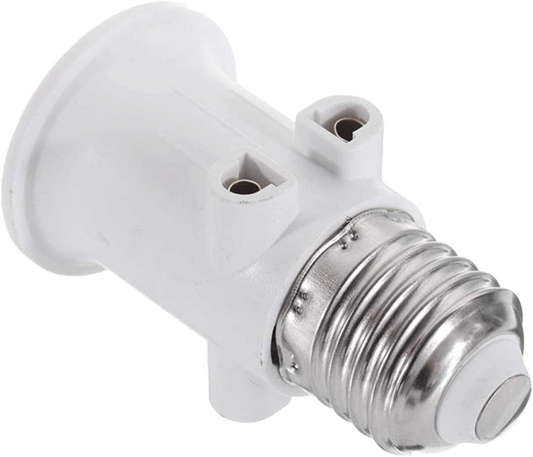 MZY1188 LED Lichtschraube Adapter Konverter AC100-240V 4A E27 EU Stecker Beleuchtung LampenfassungLED Lampenfassung Sockelschraube Lampenfassung Konverter