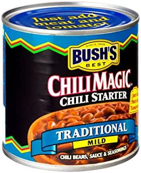Chilis & Stews: BUSH's Chili Magic Chili Starter