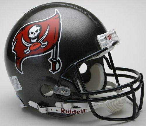 (NFL Tampa Bay Buccaneers Full Size Proline VSR4 Football Helmet)