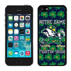 Apple iPhone 5C Cover Case NCAA-INDEPENDENTS Notre Dame Fighting Irish 15 Plastic iPhone 5c 5th Generation Case