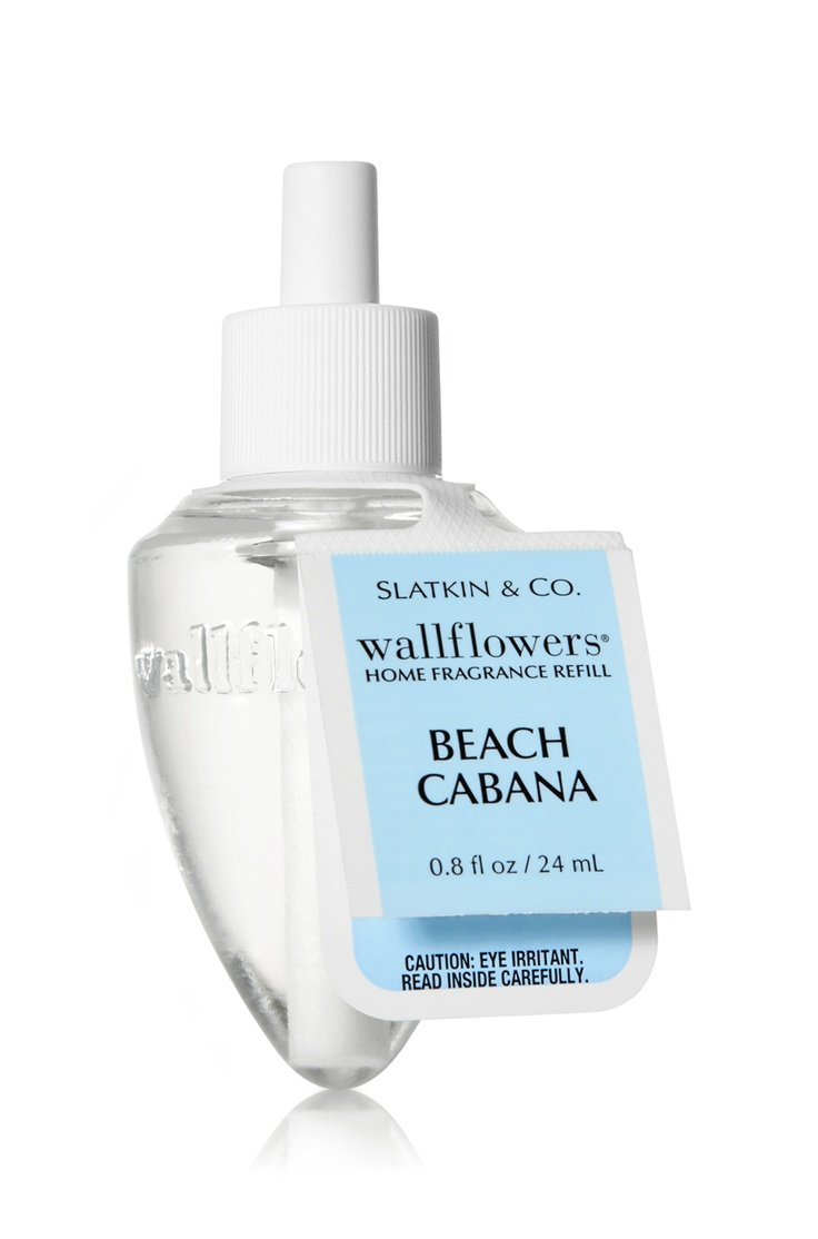Bath and Body Works BEACH CABANA Wallflower Home Fragrance Refill Single Bulb