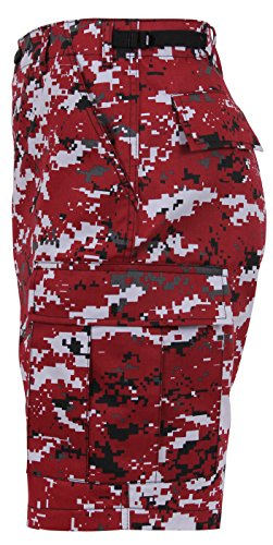 Rothco BDU Shorts, Red Digital Camo, 3X-Large