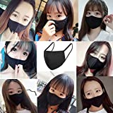 5 Pack Fashion Protective, Unisex Black Dust