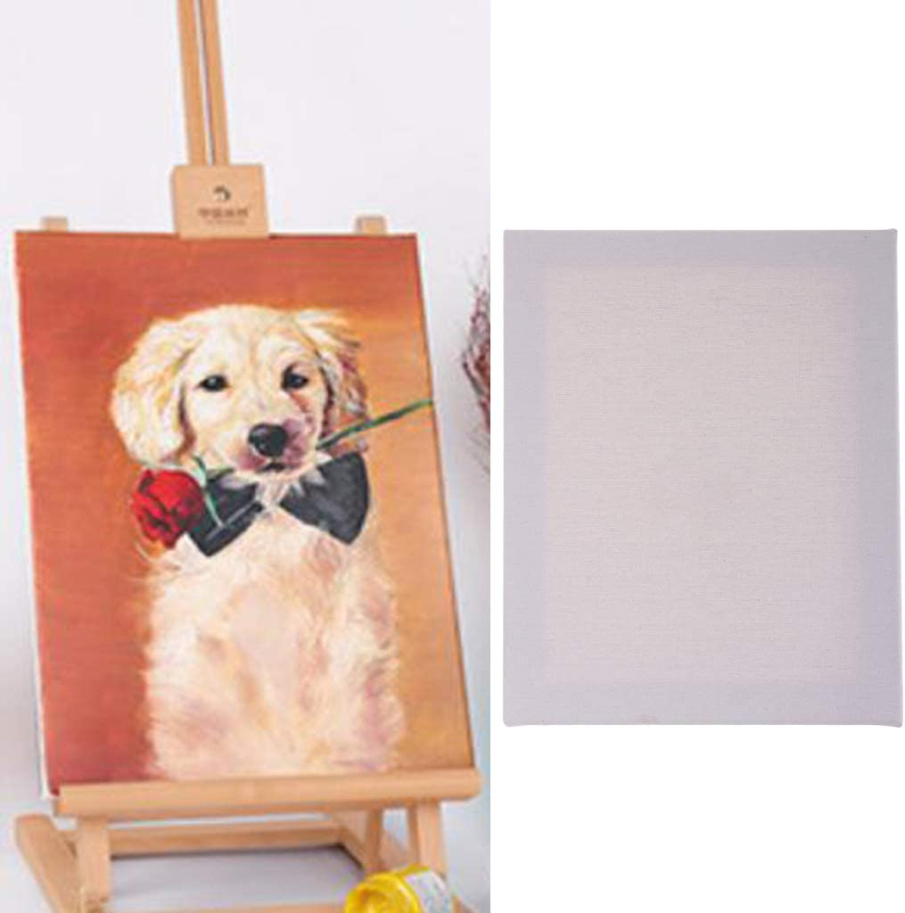 Canvas Panel Board Plain White Artist Blank Cotton Stretched Canvas Board for Art Oil Acrylic Painting Supplies 24x30cm 30x50cm, 24x30cm, 40x40cm, 20x40cm