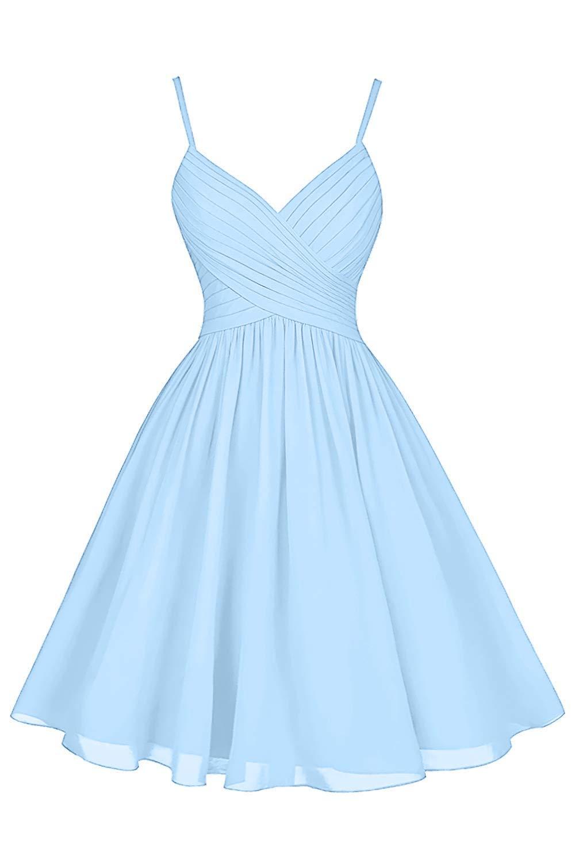 Dresspic Women's Short Bridesmaid Dress