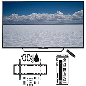 "Sony XBR-55X700D - 55"" Class 4K Ultra HD TV with Slim Wall Mount Bundle includes TV, Slim Flat Wall Mount Ultimate Kit and 6 Outlet Power Strip with Dual USB Ports"
