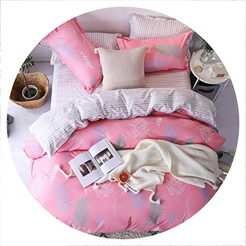 (I'm good at you Fashion Bedding Sets Luxury Bed Linen Fashion Simple Style Bedding Set Winter Full King Twin Queen Without Comforter,C5,Sold 1 Pillowcase,Flat bedsheet)