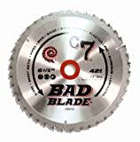 KwikTool USA BB650 C7 Bad Blade 6-1/2-Inch 42 Tooth With 5/8-Inch Arbor