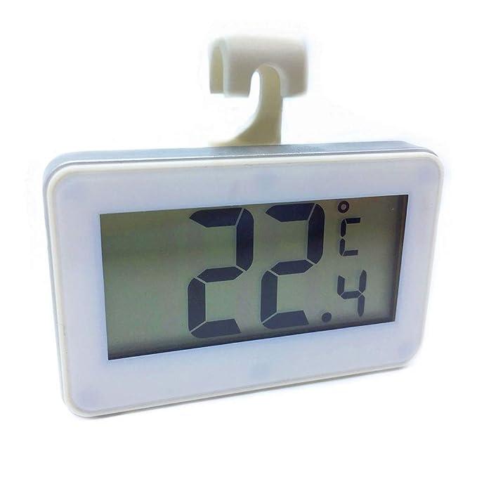 Mengonee Digital Colgando Frigorífico Congelador termómetro ...