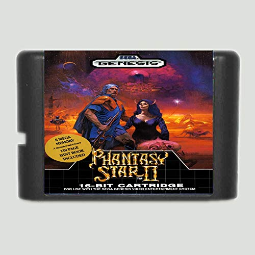 Phantasy Star 2 16 Bit Md Game Card For Sega Mega Drive For Genesis (Phantasy Star Portable 2)