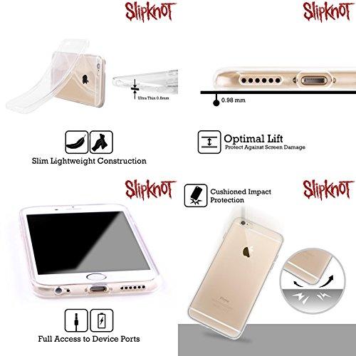 Officiel Slipknot Tribal Art Clé Étui Coque en Gel molle pour Apple iPhone 4 / 4S
