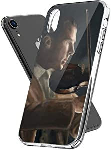 Phone Case Sherlock with His Violin Abominable Case Cover Compatible for iPhone (XR) Clear Design