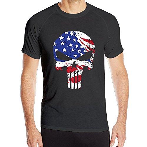 Boys American Sniper Skull Logo Athletic All Sport Training Tee - Boy Beater Logo