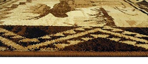 Western Area Rug Design Lodge 384 (5 Feet 2 Inch X 7 Feet 3 Inch)