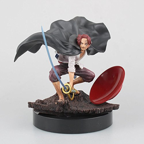 TONGROU Anime SCultures The TAG Team Shanks PVC Figure Statue New In Box - One Piece New World Chopper Costume