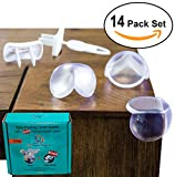 Kitchen Cabinet Outlets CMG Premier Products Baby Proofing Corner Guards and Outlet Covers, 14 Pack
