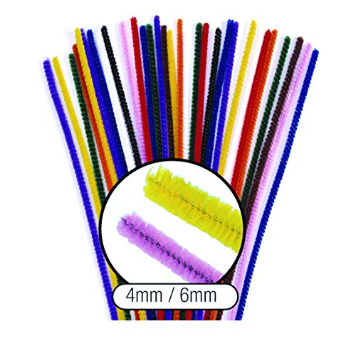 Colorations TPIP Thick Pipe Cleaners (Pack of 100)