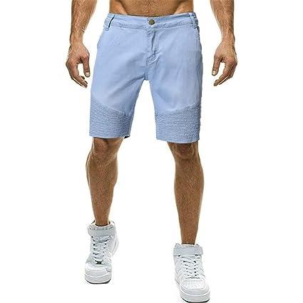 Amazon.com: URIBAKE ✓ Pantalones cortos plisados para ...