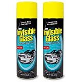 Invisible Glass 91164-2PK Premium Glass Cleaner 19-Ounce Can - Case of 2, 38. Fluid Pack