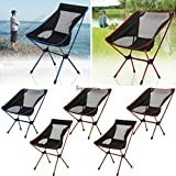 Folding Camp Stool Chair Outdoor Fishing Camping Garden Beach Seat +Carry US05
