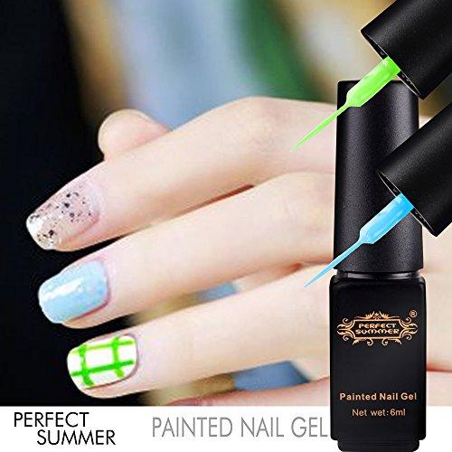 Perfect Summer Hot New 6pcs DIY 3D Nails Artistic Ideas Desi
