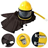 YaeTek AIR Supplied Safety Sandblast Helmet Sandblasting Hood Protector